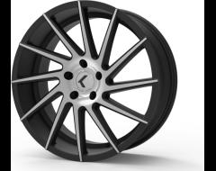 Kraze Wheels SPINNER KR181 Series - Black - Milled