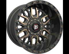 Ballistic Wheels 969 Tomahawk Series - Painted