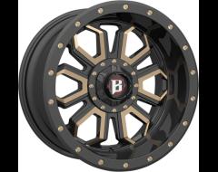 Ballistic Wheels 967 Saber Series - Painted