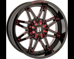 Ballistic Wheels 963 Gladiator Series - Gloss - Milled Windows