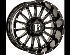 Ballistic Wheels 964 Machete Series - Gloss - Milled Windows