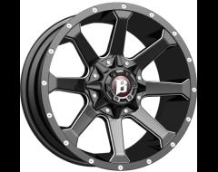 Ballistic Wheels 971 Hawk Series - Gloss - Milled accents