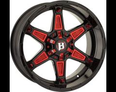 Ballistic Wheels 827 Warrior Series - Gloss - Windows