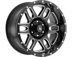LRG Squadron 116 Series Wheels - Matte - Milled accents