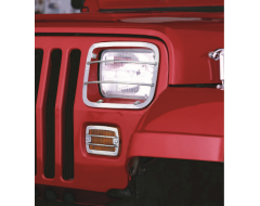 Rugged Ridge Euro Guard Kit Headlight/Turn Signal Guard