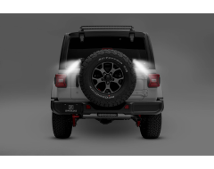 Zroadz Spare Tire Carrier Mounted LED Light Kit
