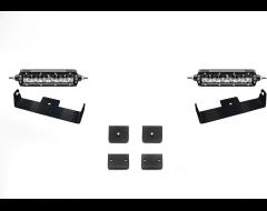 Zroadz Universal Panel Clamp LED Light Bar Kit