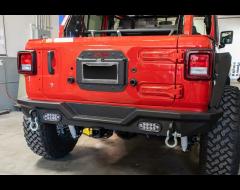 DV8 Offroad Spare Tire Delete Kit