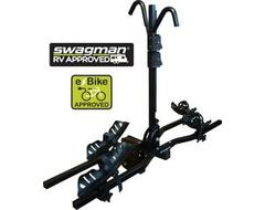 Swagman E-spec Black Hitch Mounted Platform Bike Carrier