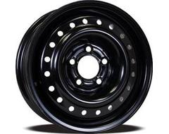 YKW Steel Wheel Black