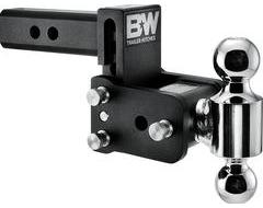 B & W Trailer Hitches Tow and Stow 2-Ball Mount