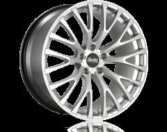 Advanti Racing Fastoso Silver Machined Undercut