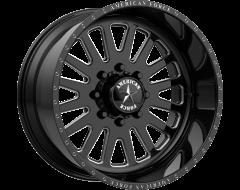 American Force Wheels AFW F20 ATOM SS Gloss Black Machined