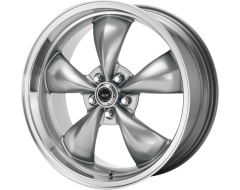 American Racing Wheels AR105 TORQ THRUST M Anthracite Machined Lip