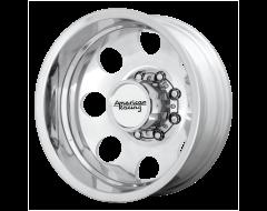 American Racing Wheels AR204 BAJA DUALLY Polished Rear