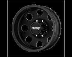 American Racing Wheels AR204 BAJA DUALLY Satin Black Rear