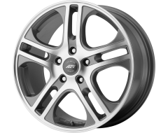 American Racing Wheels AR887 AXL Dark Silver with Machined Face