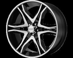 American Racing Wheels AR893 MAINLINE Gloss Black Machined
