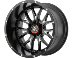Asanti Wheels AB807 CARBINE Satin Black Milled