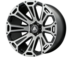 Asanti Wheels AB813 CLEAVER Brushed Black