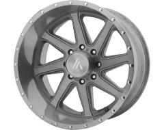 Asanti Wheels AB814 WINDMILL Titanium Brushed