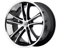 Asanti Wheels ABL-1 PEGASI Machined Black Stainless Steel Lip