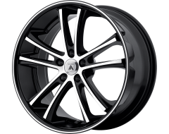 Asanti Wheels ABL-1 PEGASI Machined Face Black Lip