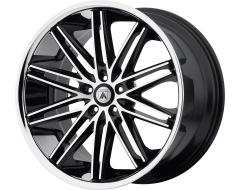 Asanti Wheels ABL-10 POLLUX Machined Face Stainless Steel Lip
