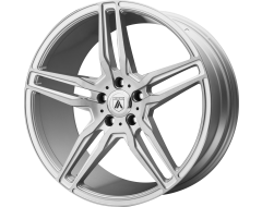 Asanti Wheels ABL-12 ORION Brushed Silver Carbon Fiber Insert