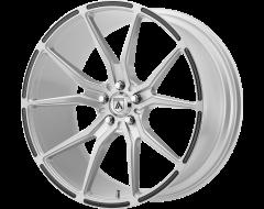 Asanti Wheels ABL-13 VEGA Brushed Silver Carbon Fiber Insert