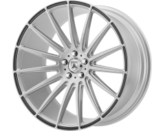Asanti Wheels ABL-14 POLARIS Brushed Silver Carbon Fiber Insert