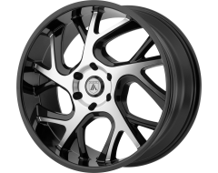 Asanti Wheels ABL-16 Gloss Black Machined