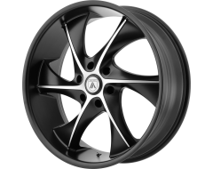 Asanti Wheels ABL-17 Satin Black Machined