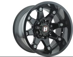 Ballistic Wheels 581 Beast Painted Gloss Black
