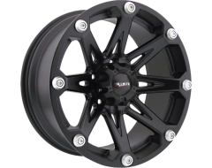 Ballistic Wheels 814 Jester Painted Matte Black