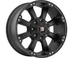 Ballistic Wheels 845 Morax Painted Matte Black