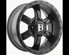 Ballistic Wheels 962 Slayer Painted Matte Black