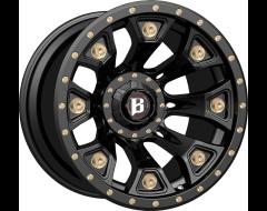 Ballistic Wheels 976 Warhammer Painted Matte Black