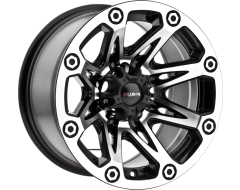 Ballistic Wheels Series 522 Painted Gloss Black