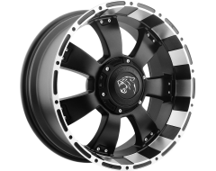 Ballistic Wheels Series 815 Painted Matte