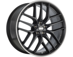 BBS Wheels CC-R Black with Stainless Steel Lip