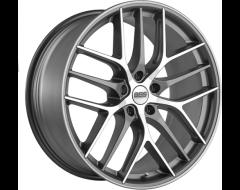 BBS Wheels CC-R Satin Graphite with Diamond Cut Lip Satin Clear Coat