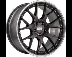 BBS Wheels CHR II Black with Stainless Steel Lip