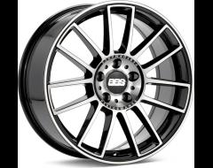 BBS Wheels CM Black with Stainless Steel Lip