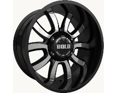 Bold Off-Road Wheels BD005 Painted Gloss Black with Machined Face