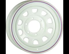 Ceco Wheels Daytona Steel Wheel Series 80 White