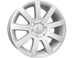 Ceco Wheels Series 166 Silver