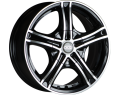 Ceco Wheels Series 245 Machined Black