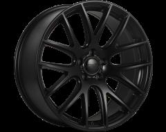 DAI Wheels Autobahn Staggered Satin Black