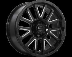 DAI Wheels Karv Truck Gloss Black Milled Edge
